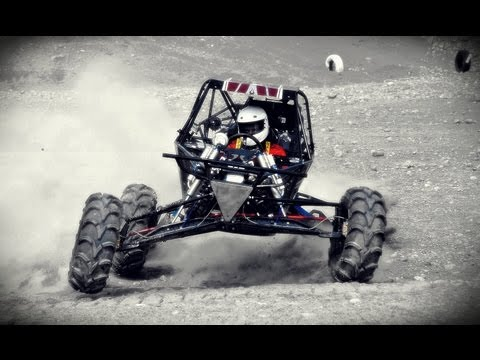 custom - Hand made cbr 929 mini buggy doing some crazy jumps at a Formula Offroad event in Sweden! off road extreme insane hill climb.