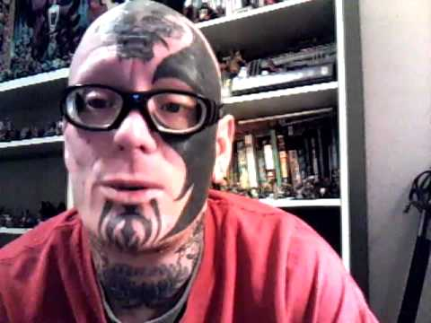 Face tattoo explanation part one