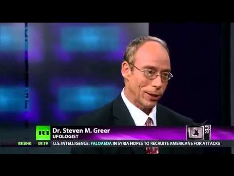 UFOs – RT RUSSIA TODAY Interviews Dr Steven Greer – 10th January 2014