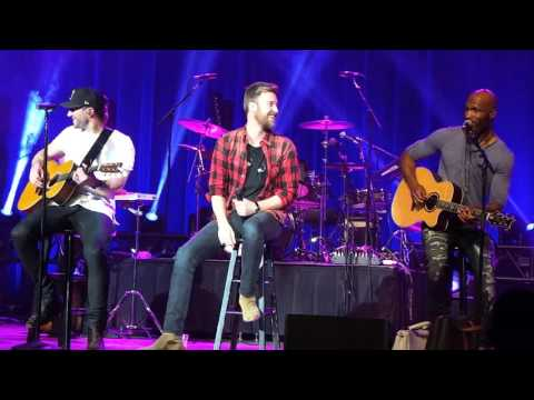 Sam Hunt & Charles Kelley Shred the 90's on Stage