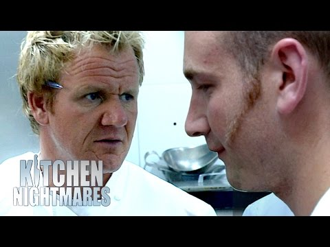 Chef Ramsey Makes Waiter Cry | Kitchen Nightmares