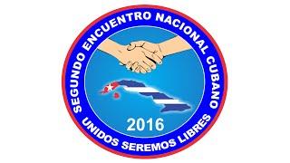 Conferencia de prensa sobre el Segundo Encuentro Nacional Cubano en Puerto Rico