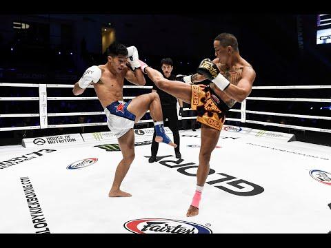 GLORY 73: River Daz vs. Hu Binqian (Tournament Semi-Final) - Full Fight