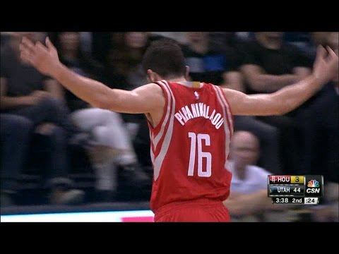 Kostas Papanikolaou Highlights (12 pts, 4 threes) vs. Jazz 10/29/2014