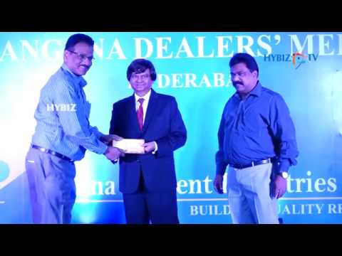 Penna Cement Telangana Dealers Meet 2017 Hyderabad