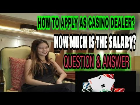 ALL ABOUT CASINO DEALER   QUESTION & ANSWER   TIPS   FAQs #CASINODEALERJOB