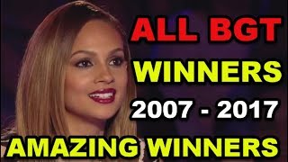 Video ALL WINNERS on BRITAIN'S GOT TALENT 2007 - 2017! MP3, 3GP, MP4, WEBM, AVI, FLV Maret 2019