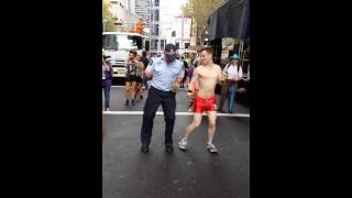 Thanks to Miss Julie Makeup for this video. Miss Julie Makeup This incredible policeman sure showed us some moves at the Mardi Gras. Best thing I saw all ...