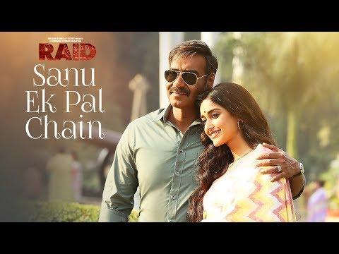 Video Sanu Ek Pal Chain Video | Raid | Ajay Devgn | Ileana D'Cruz| Tanishk B Rahat Fateh Ali Khan Manoj M download in MP3, 3GP, MP4, WEBM, AVI, FLV January 2017