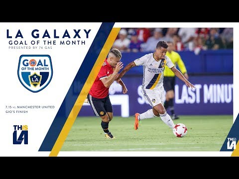 Video: Gio finishes against Real Salt Lake | Goal of the Month - presented by 76 Gas