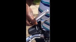 9. 2014 Harley Davidson V Rod Muscle Indicator and Mirror replacement