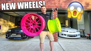 MY CRAZY NEW WHEELS!! by Evan Shanks
