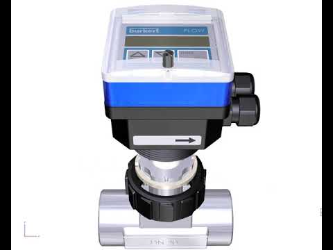 Type 8045 - Insertion magnetic inductive flowmeter