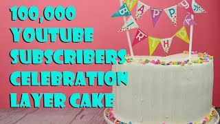 Orange Scented Vanilla Cake (vegan) CELEBRATE 100,000 SUBS! ||Gretchen's Bakery by Gretchen's Bakery