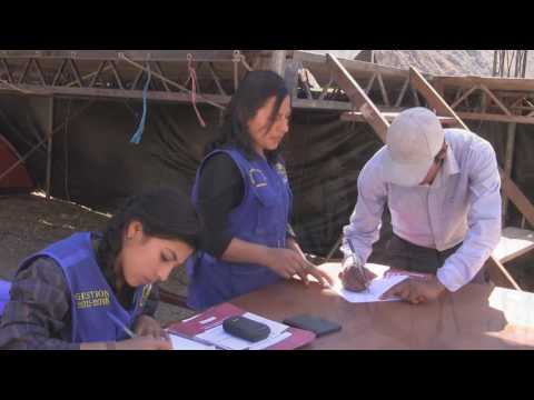 MUNICIPALIDAD DE ABANCAY ENTREGO TITULOS DE PROPIEDAD GRATUITOS EN CHACOCHE