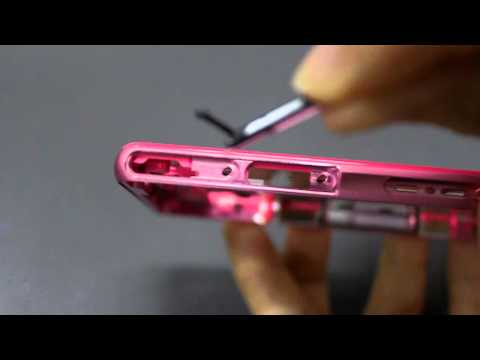 how to replace xperia z usb cover