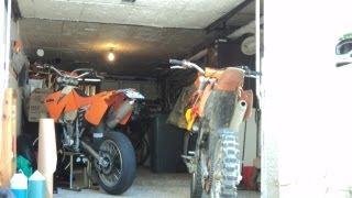 4. KTM 520 EXC 2002 VS KTM 125 SX 2006