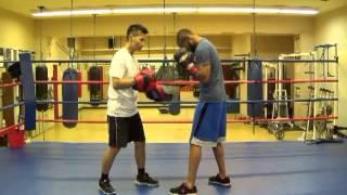 Boxing Mitt Coach YouTube video