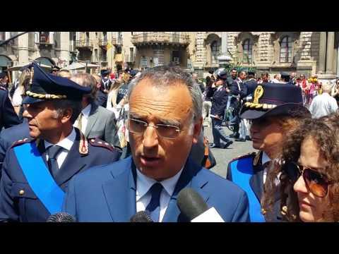 Festa della polizia, parla il Questore Cardona