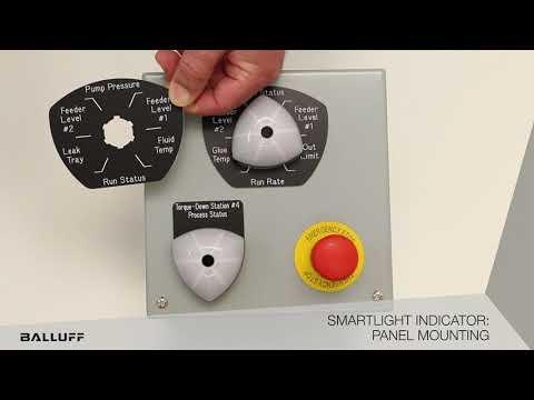 Smartlight Indicator Application for Panel Mounting