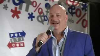 Video 'Roasts' comedian, Jeff Ross, cracks-up PolitiCon '15 audience (full routine) MP3, 3GP, MP4, WEBM, AVI, FLV Agustus 2018