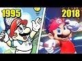 Evolution Of Mario Tennis Games 1995 2018