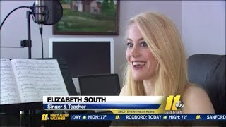 "ABC11 News - Disney Frozen ""For the First Time/Let It Go\"" - Ryan Seacrest - Elizabeth South"