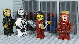 Video Lego Superhero IRON MAN's suit was Stolen by NEW AGENT MP3, 3GP, MP4, WEBM, AVI, FLV Agustus 2019