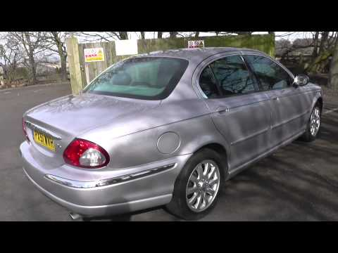 Jaguar X Type For Sale 114k Spares or Repair Walkaround Engine Running