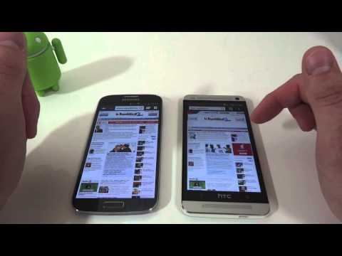 Video: Htc One vs Samsung Galaxy S4: Video Confronto