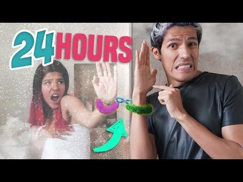 MÁS DE 24 HORAS HORAS ESPOSADOS (KAREN LIBÉRANOS YA!) | LOS POLINESIOS