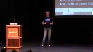 From Sysadmin Hell To Operational Bliss - Martin Englund - PuppetConf '11