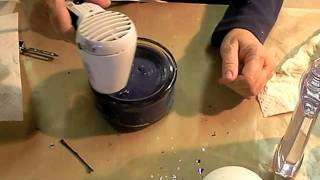 How to refurbish old candles - YouTube