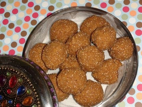 Churma Laddu(Wheat flour laddu)