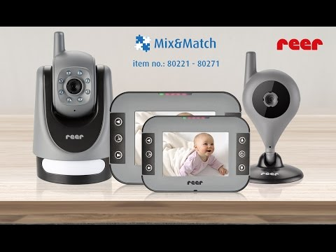 reer Mix & Match video baby monitor GB (item no. 80221 to 80271)