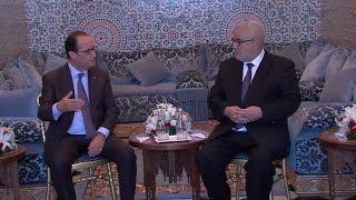 الرئيس الفرنسي يستقبل رئيس الحكومة ورئيسي مجلسي النواب والمستشارين