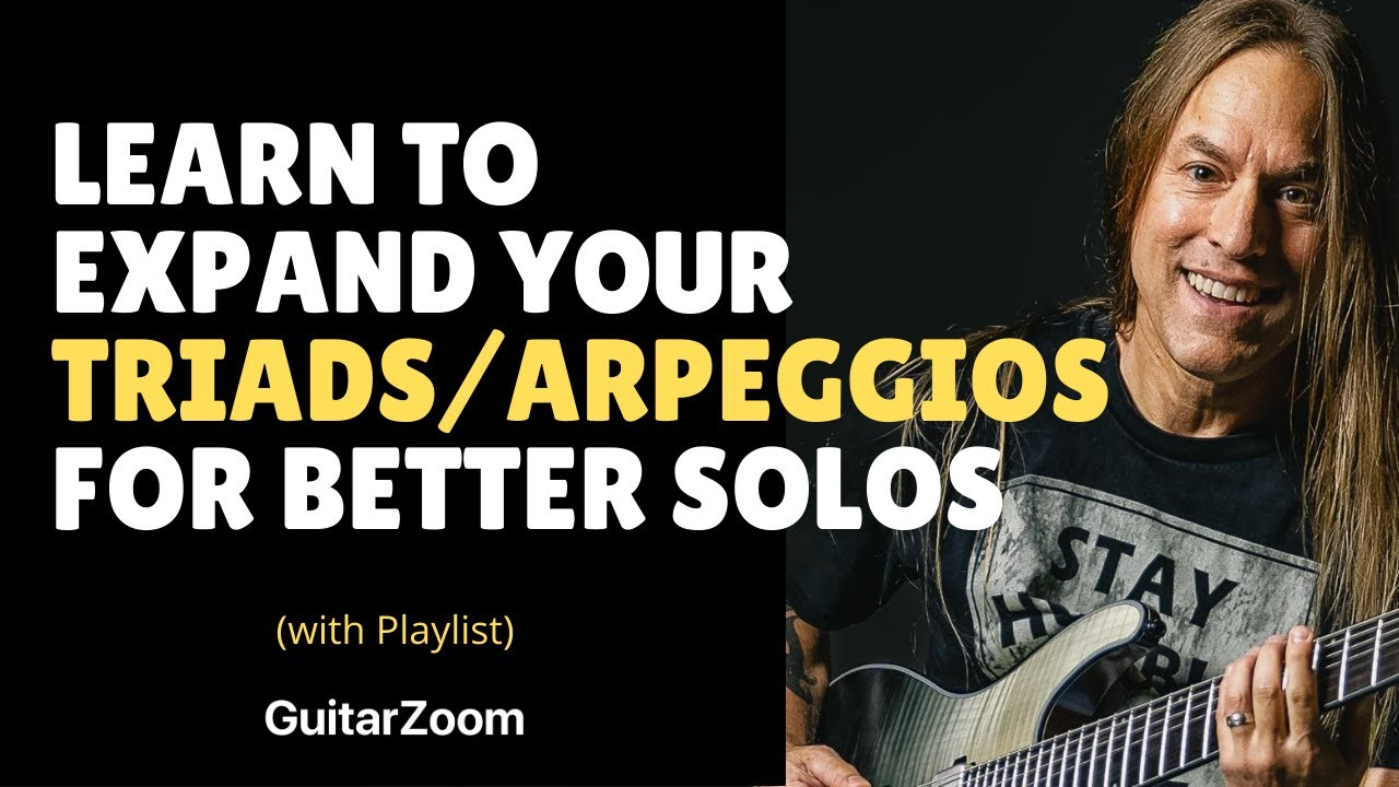 Guitar Solo Tips – Expand Your Guitar Scales Horizontally – Steve Stine Guitar Lesson