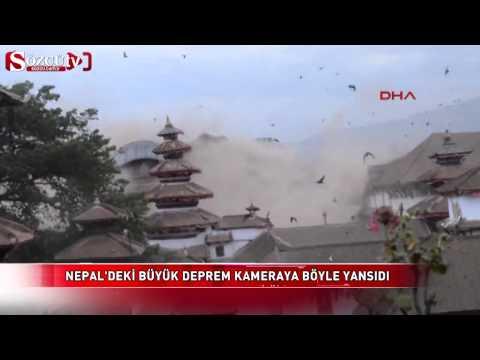 terremoto in nepal. video amatoriale al momento del dramma