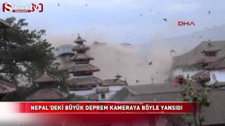 Just before the earthquake Basantapur Earthquake Nepal 2015 April 25 Please donate from here...