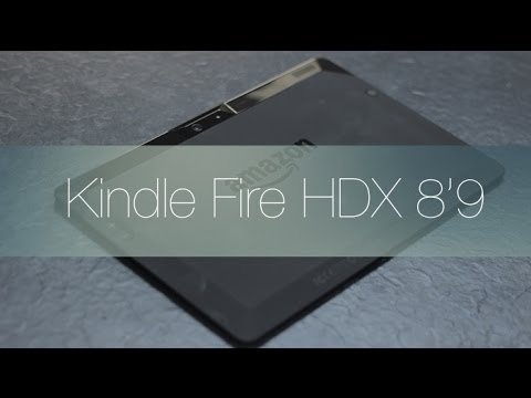 Review kindle Fire HDX 8'9 en Español