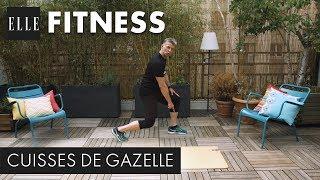 Pour avoir des jambes fuselées et des cuisses de gazelle cet été, on suit les exercices du coach sportif Christophe Ruelle. 20 minutes de mouvements, conseils et démonstration pour une bonne séance fitness à la maison.Abonnez-vous à la chaîne ELLE : http://bit.ly/YouTubeELLERetrouvez ELLE, le magazine féminin de la mode, de la beauté et de toute l'actualité des femmes sur : Elle.fr : http://www.elle.frElle Vidéo : http://videos.elle.frFacebook : https://www.facebook.com/elleTwitter : https://twitter.com/ELLEfrancePinterest : http://www.pinterest.com/magazineellefr/Retrouvez Christophe Ruelle sur :YouTube : https://www.youtube.com/channel/UCkVTILgNyZ8MX4L2XF2ldcAFacebook : https://www.facebook.com/christophe.ruelle.9/?fref=tsInstagram : https://www.instagram.com/christopheruelle/REMERCIEMENTSChristophe Ruelle, Coach sport & santéhttp://www.chrisruellefit.com/Production : LEDCopyright : ©ELLE 2017