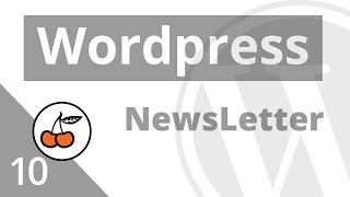 3.h  Créer une Newsletter dans Wordpress (avec Mailchimp)