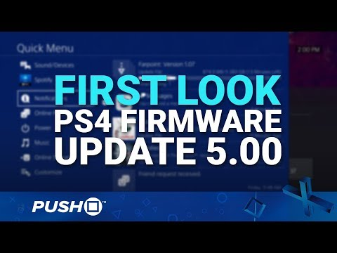 PS4 Firmware Update 5.00 First Look | PlayStation 4 | News