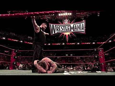 Road To Wrestlemania: United States Champion Chris Jericho Vs. Kevin Owens