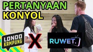 Video PRANK PERTANYAAN KONYOL feat. RUWET TV MP3, 3GP, MP4, WEBM, AVI, FLV Februari 2019