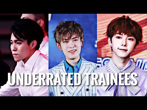 Underrated trainees on idol producer