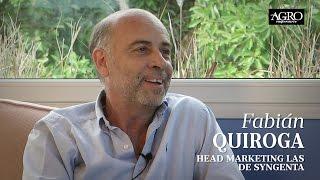 Fabián Quiroga - Head Marketing Las de Syngenta
