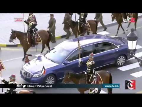Official welcome ceremony of His Highness Sheikh Sabah Al Ahmad Al Jabir Al Sabah, Emir of Kuwait to Oman