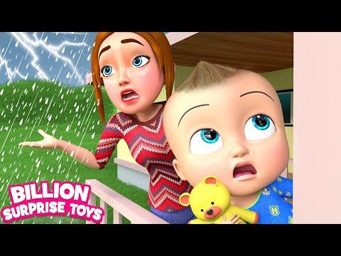 Rain Rain go Away | BillionSurpriseToys - Nursery Rhymes & Kids Songs