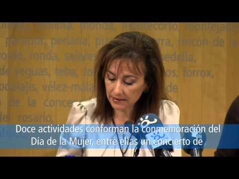 Programa Día de la Mujer 2014 - Diputación de Málaga